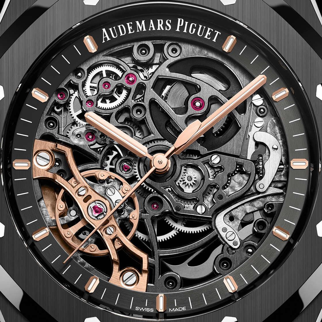 Audemars Piguet Royal Oak Double Balance Wheel Openworked Black Ceramic