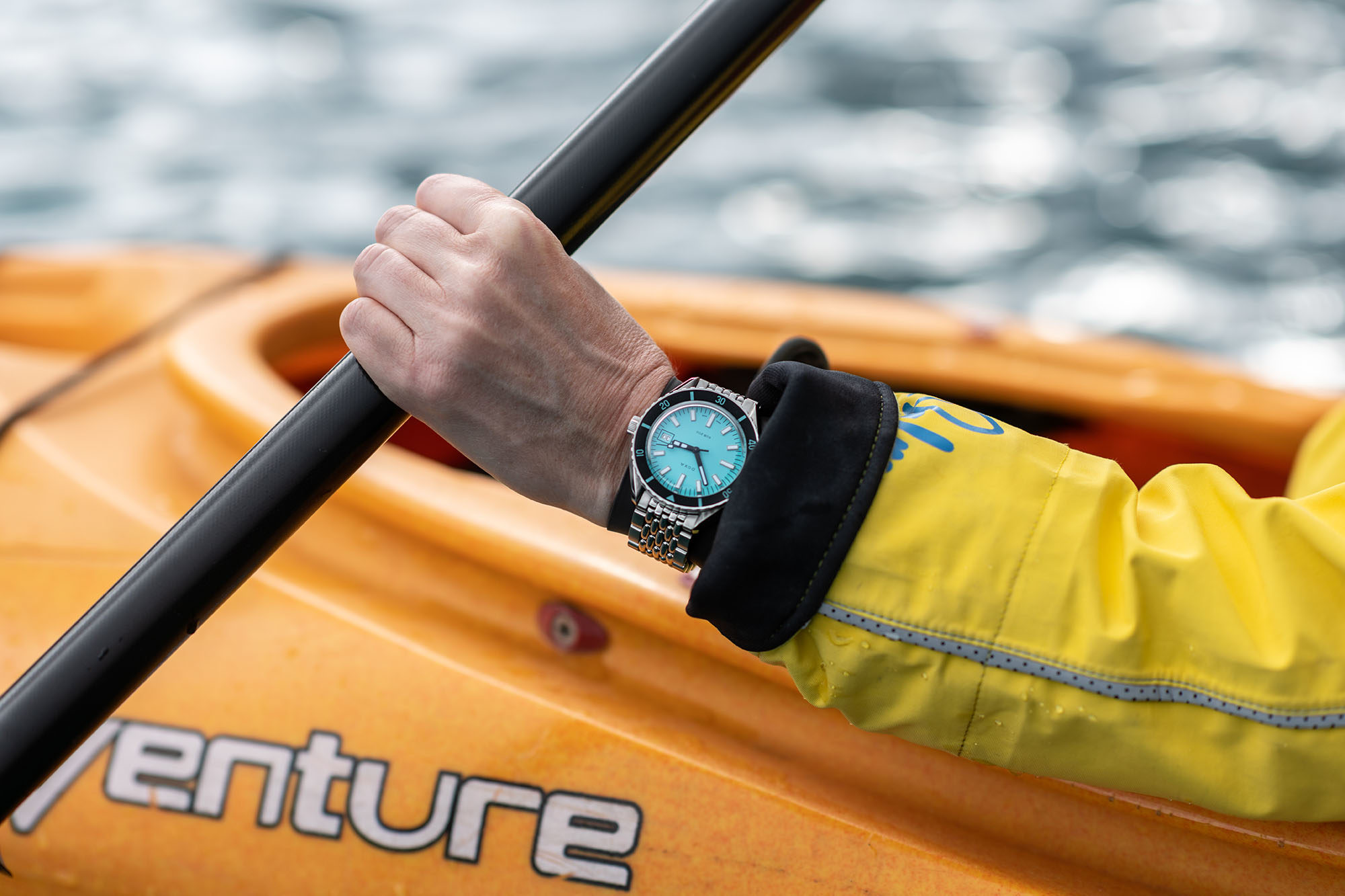 RECOMMENDED READING: Taking the DOXA SUB 200 over the water, but not into it