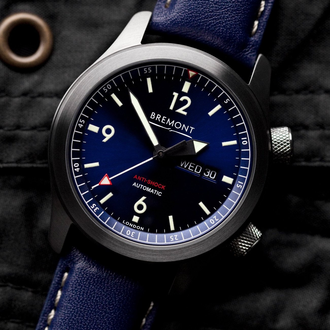 INTRODUCING: The Bremont U-2 Blue is the fresh summer watch Australians (and the world) need right now
