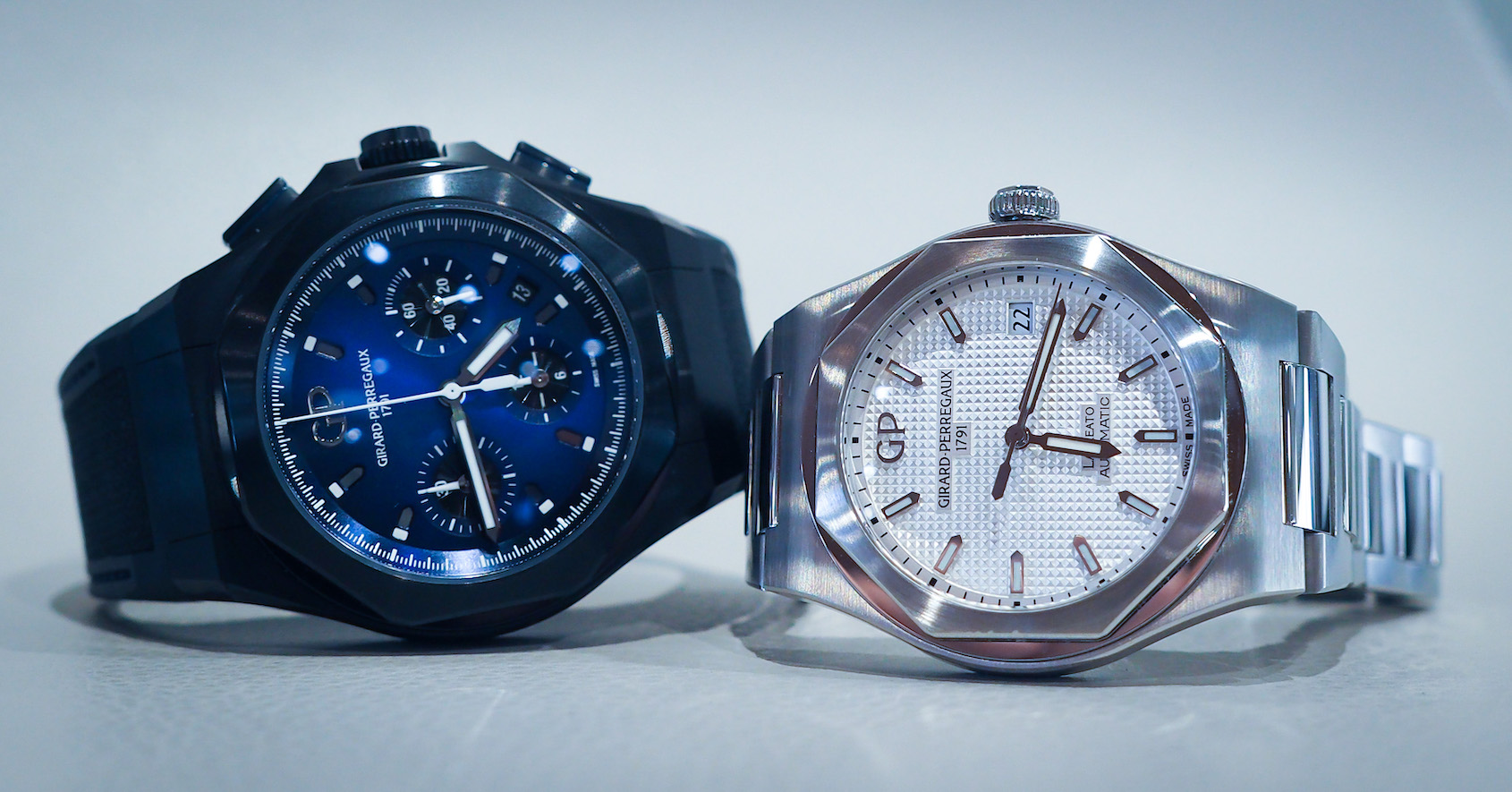 IN-DEPTH: Girard-Perregaux Laureato Vs. the Laureato Absolute Chronograph – the Beauty and The Beast