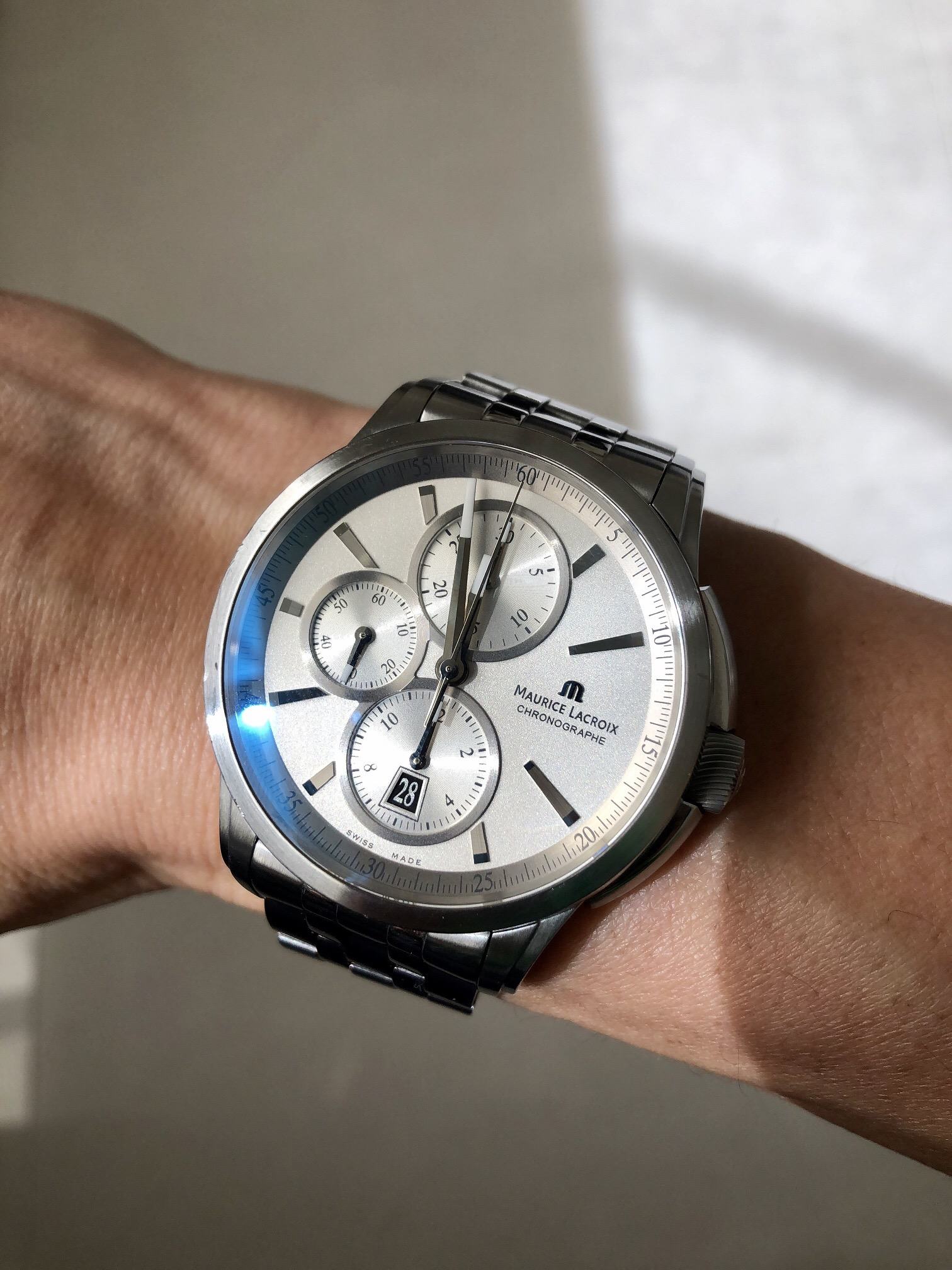 What Sealed The Deal – Jeremy's Maurice Lacroix Pontos Chronographe