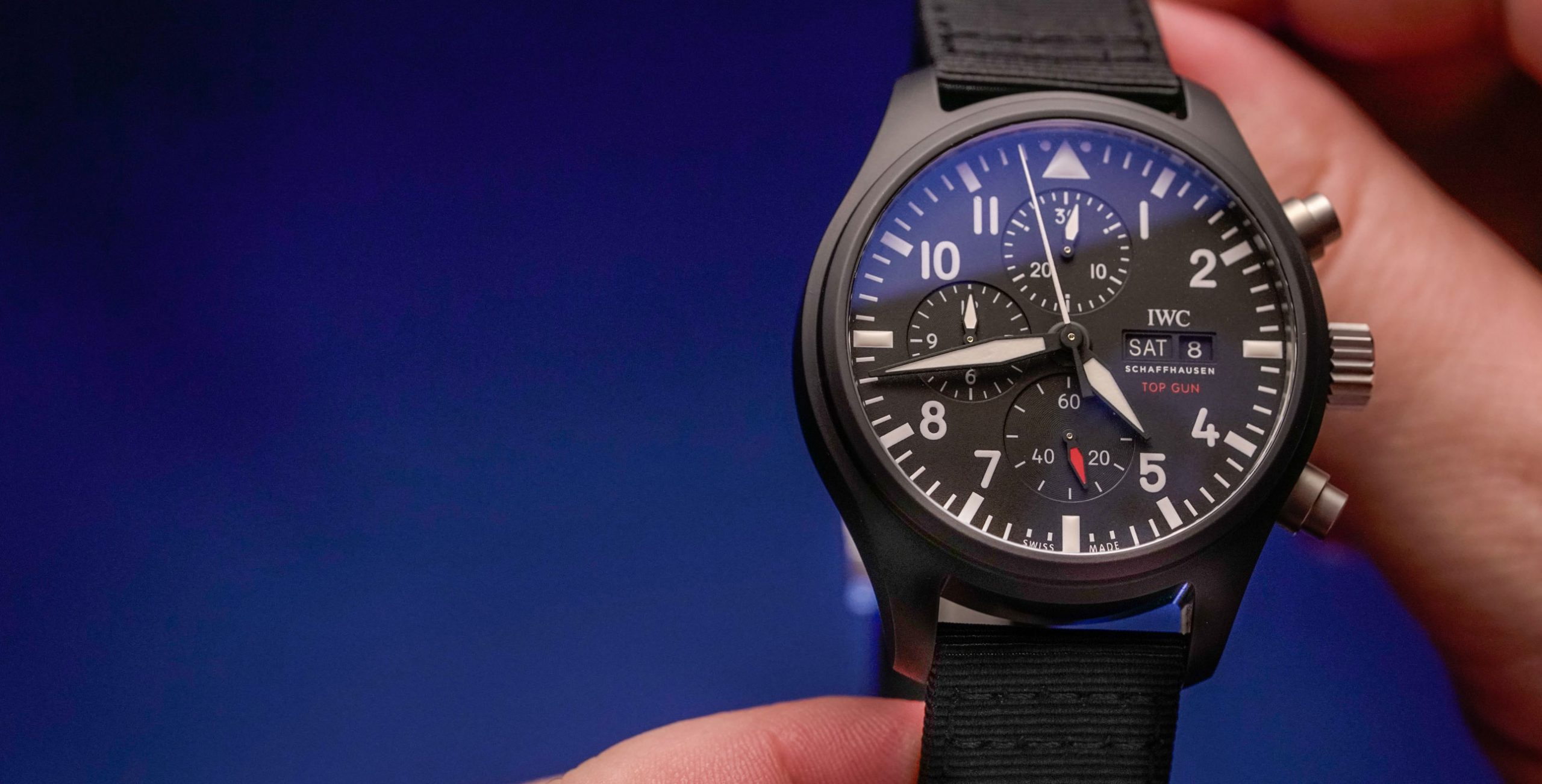 Understanding the IWC Pilot's family part 1 – the Top Gun collection