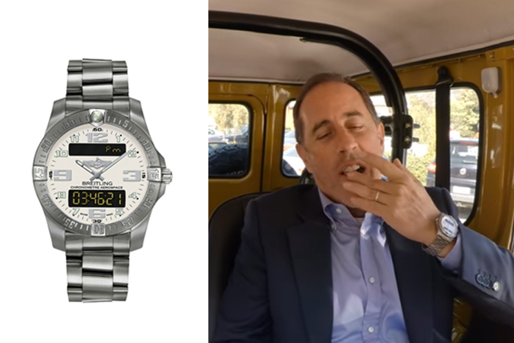 14 of the best watches spotted in 'Comedians in Cars Getting Coffee'