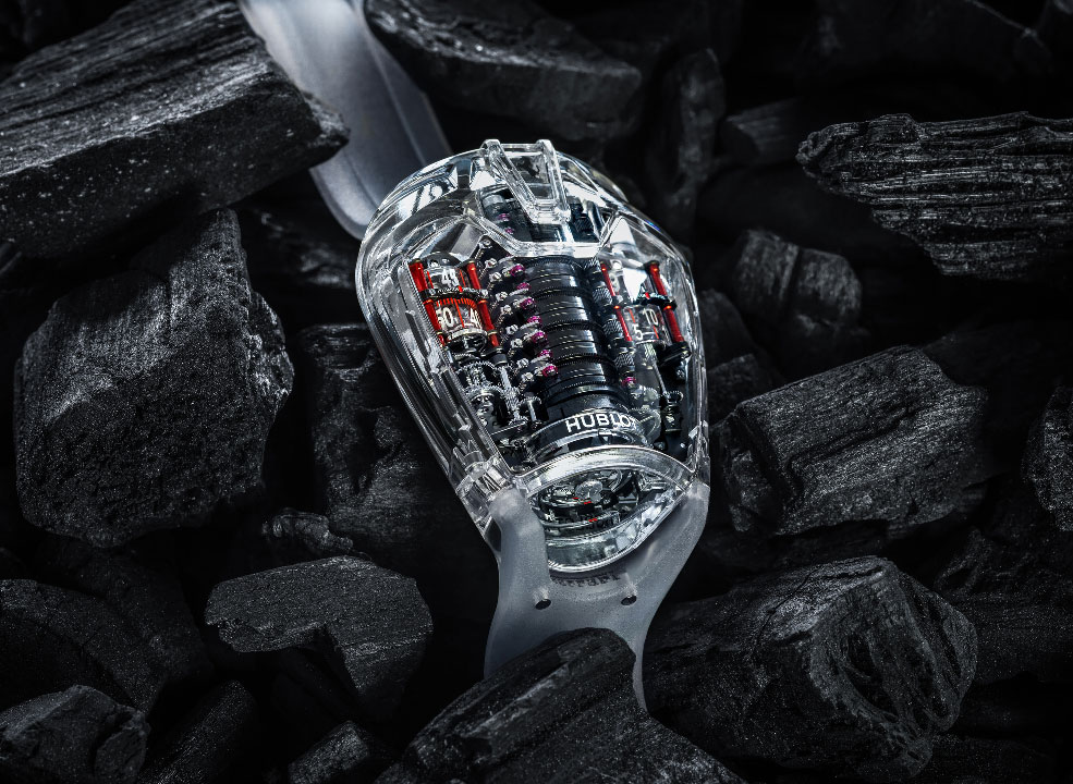 Ultimate transparency — Hublot's sapphire evolution, in 13 watches
