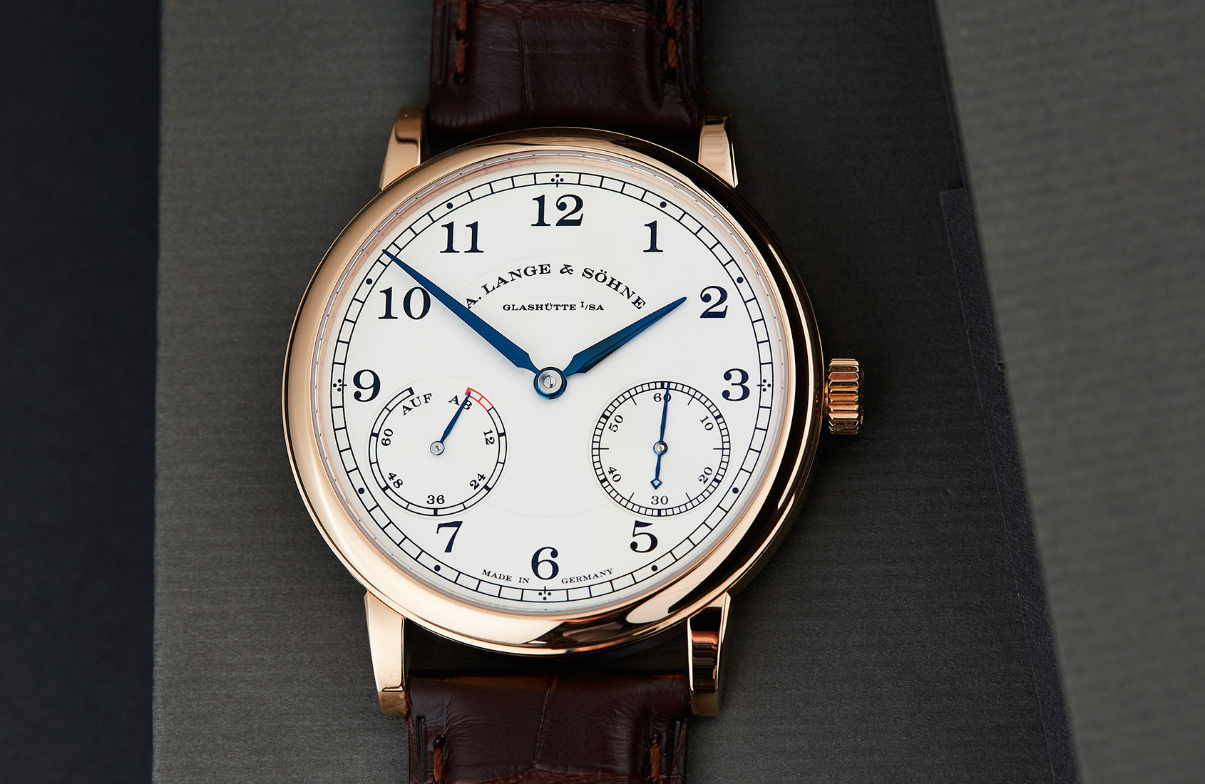 No downsides to the A. Lange & Söhne 1815 Up/Down