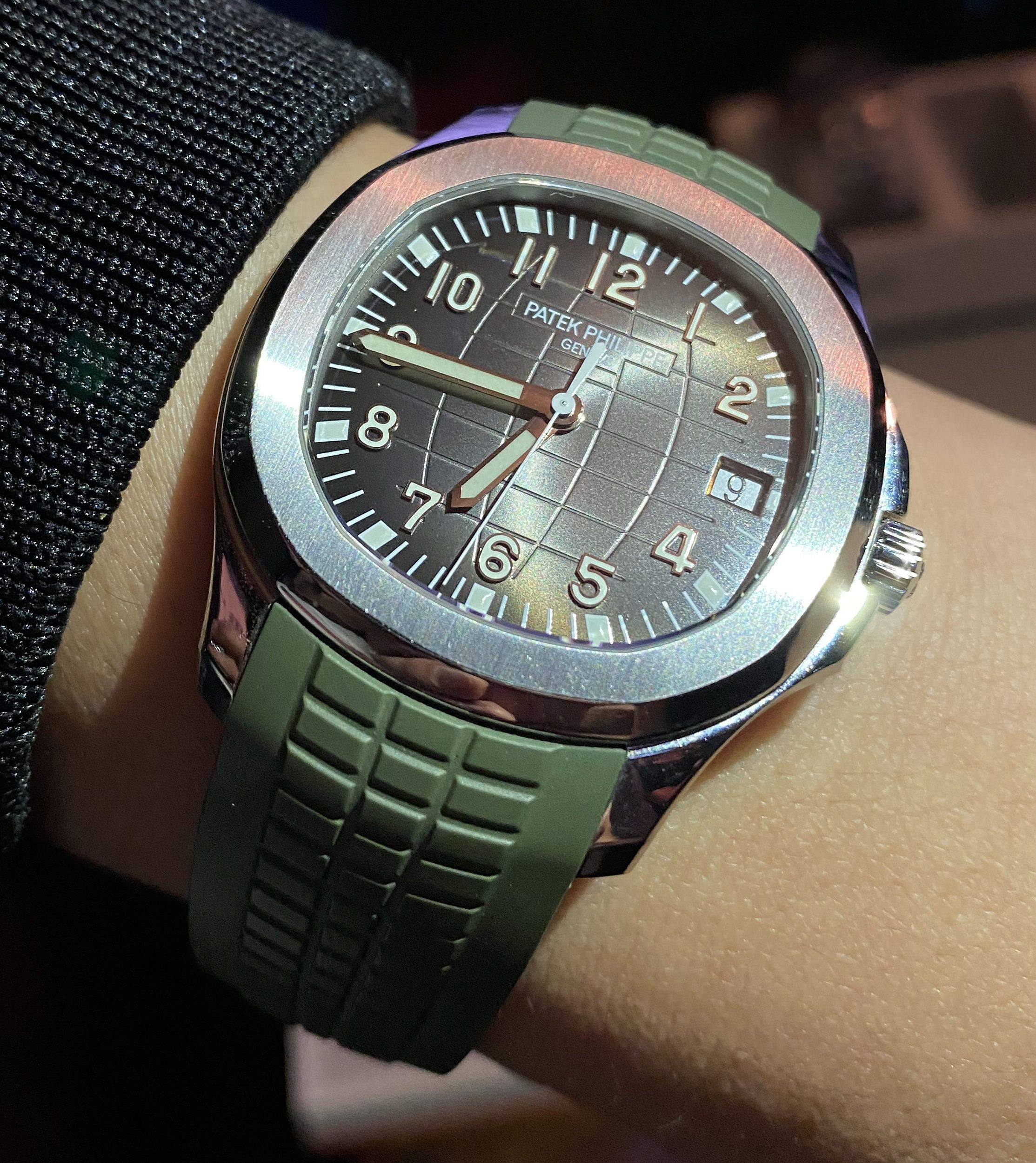 What Sealed The Deal – Andrio's Patek Philippe Aquanaut ref. 5167A-001