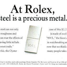 watchmaking steel