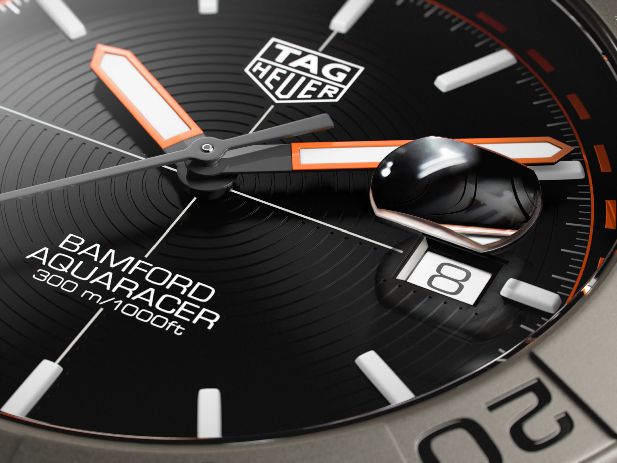 INTRODUCING: The TAG Heuer Aquaracer Bamford Limited Edition