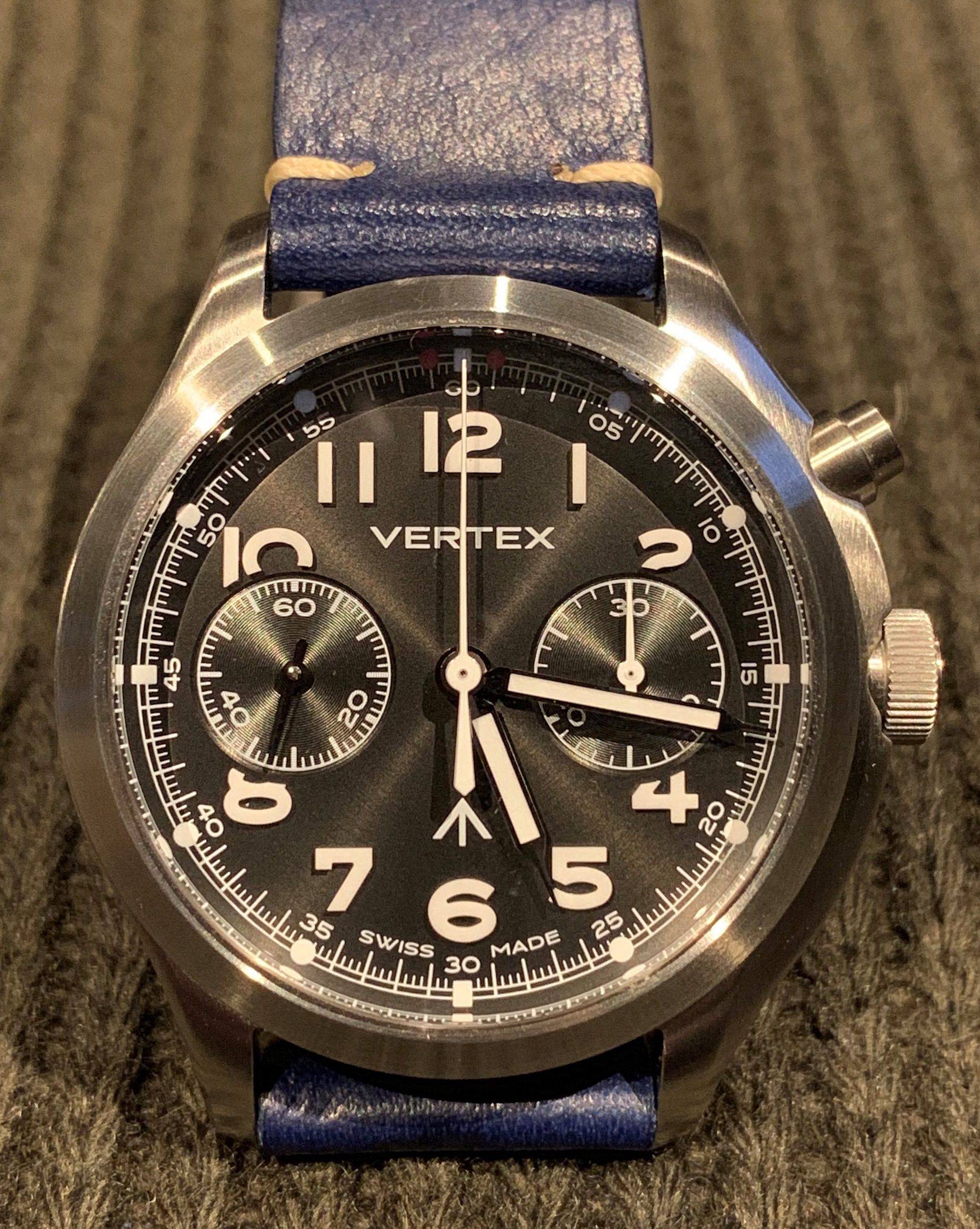 What Sealed The Deal – James' Vertex MP45 chronograph