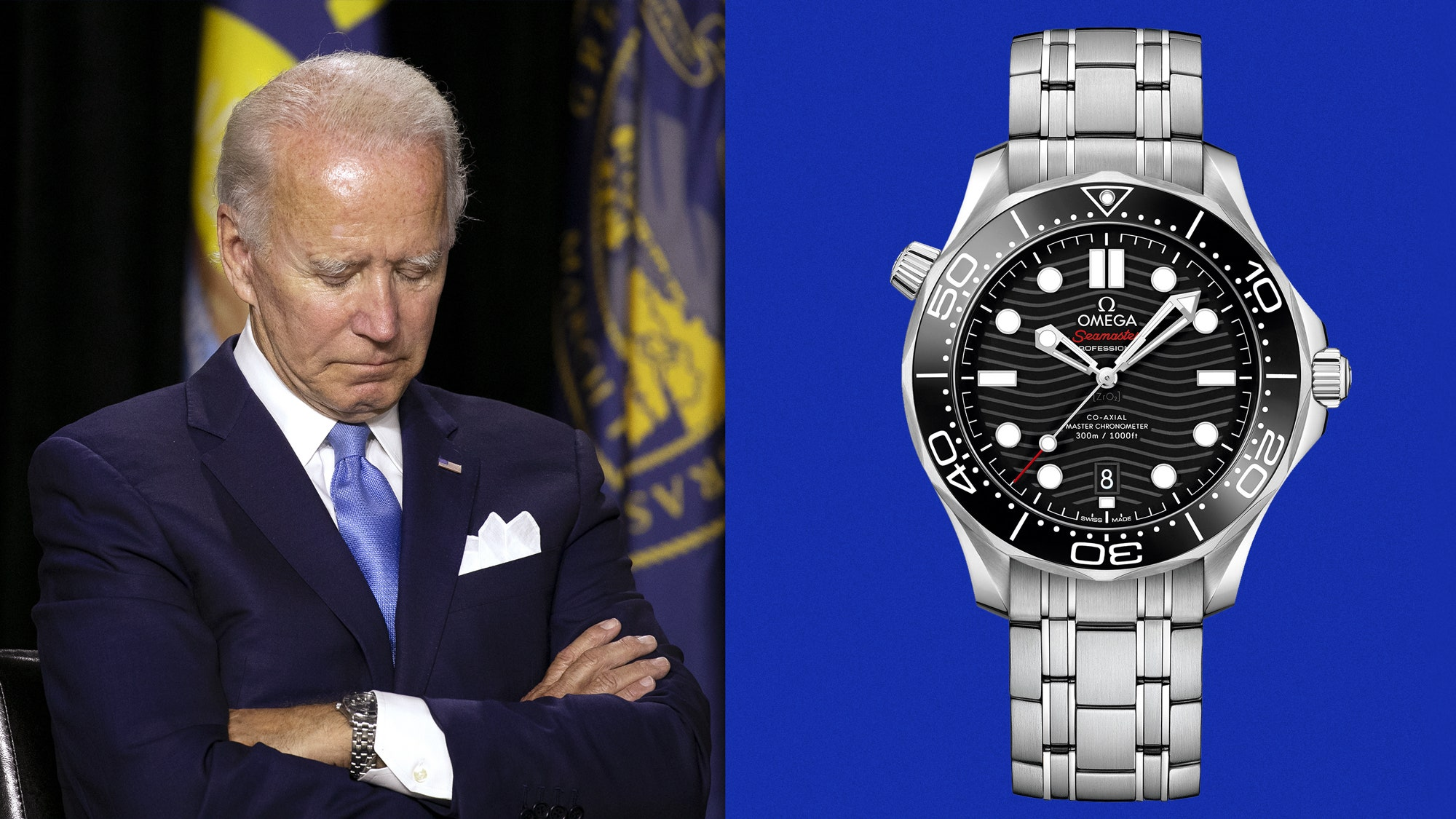 """RECOMMENDED READING: Joe Biden's watch called """"the perfect foil to Trump"""" by GQ"""