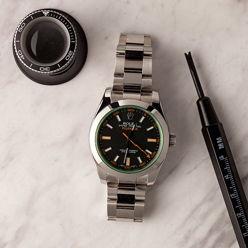 Five Rolex models available near retail pricing