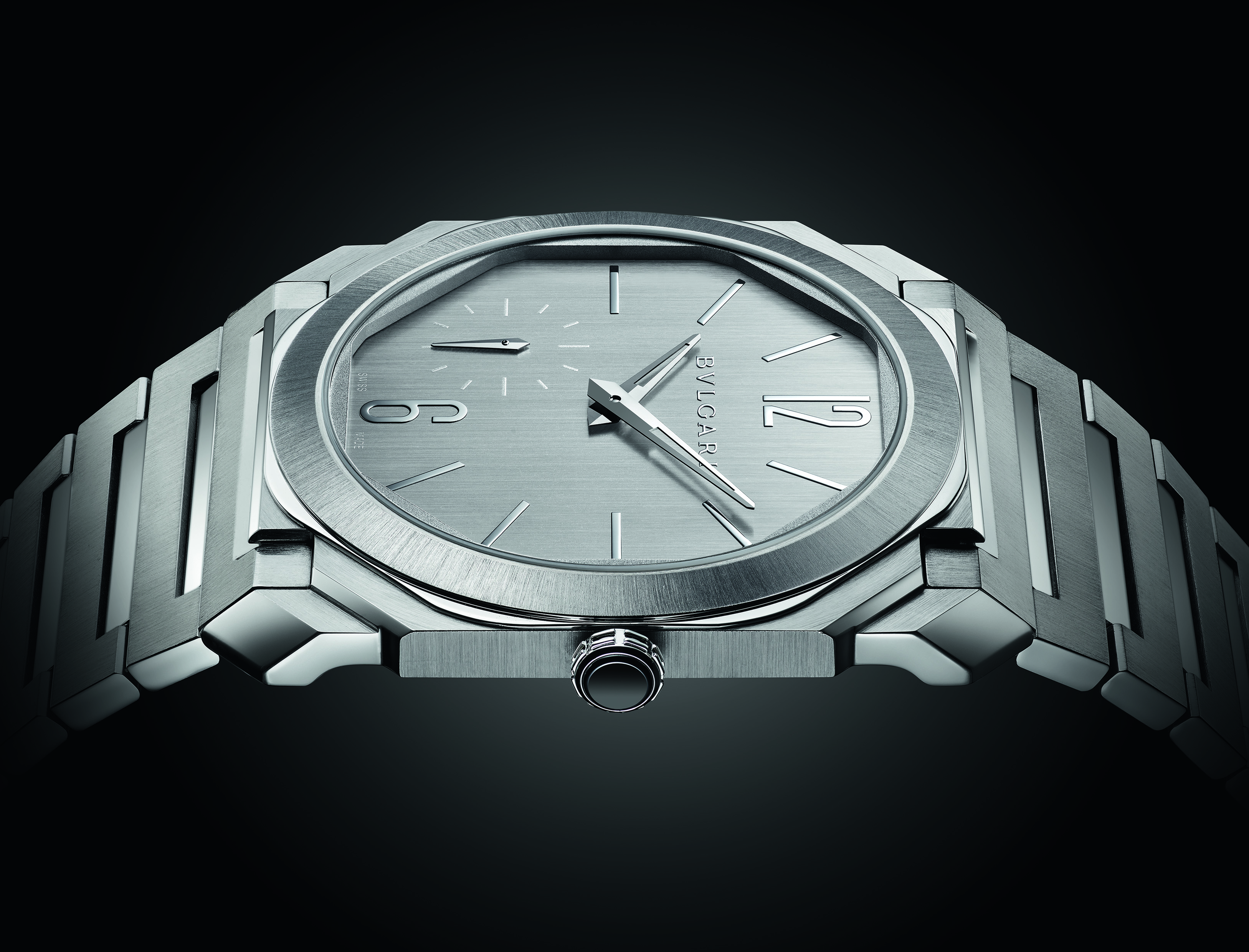 The Bulgari Octo Finissimo is the most contemporary watch design