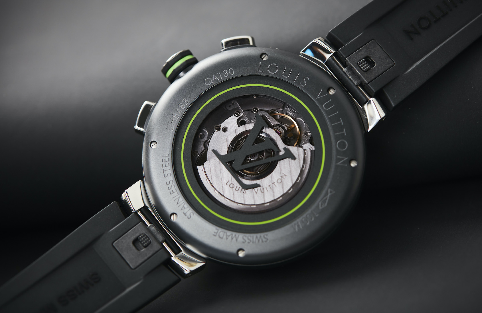 Louis Vuitton Tambour Damier Graphite Race Chronograph