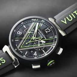 Louis Vuitton Tambour Damier Graphite Race Chronograph