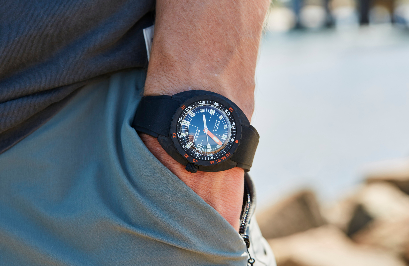 DOXA Sub 300 Carbon range delivers 6 eye-popping dials