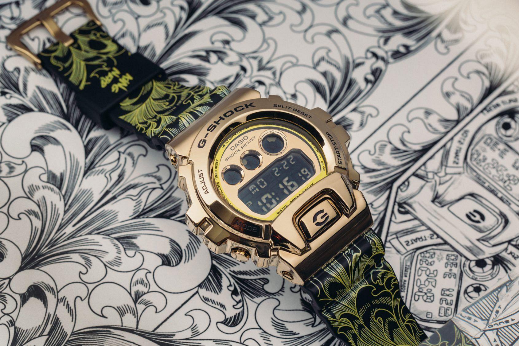 King Nerd x G-Shock GM-6900GKING-9ER
