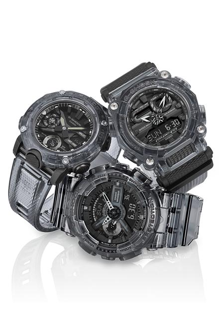 G-Shock Transparent Series