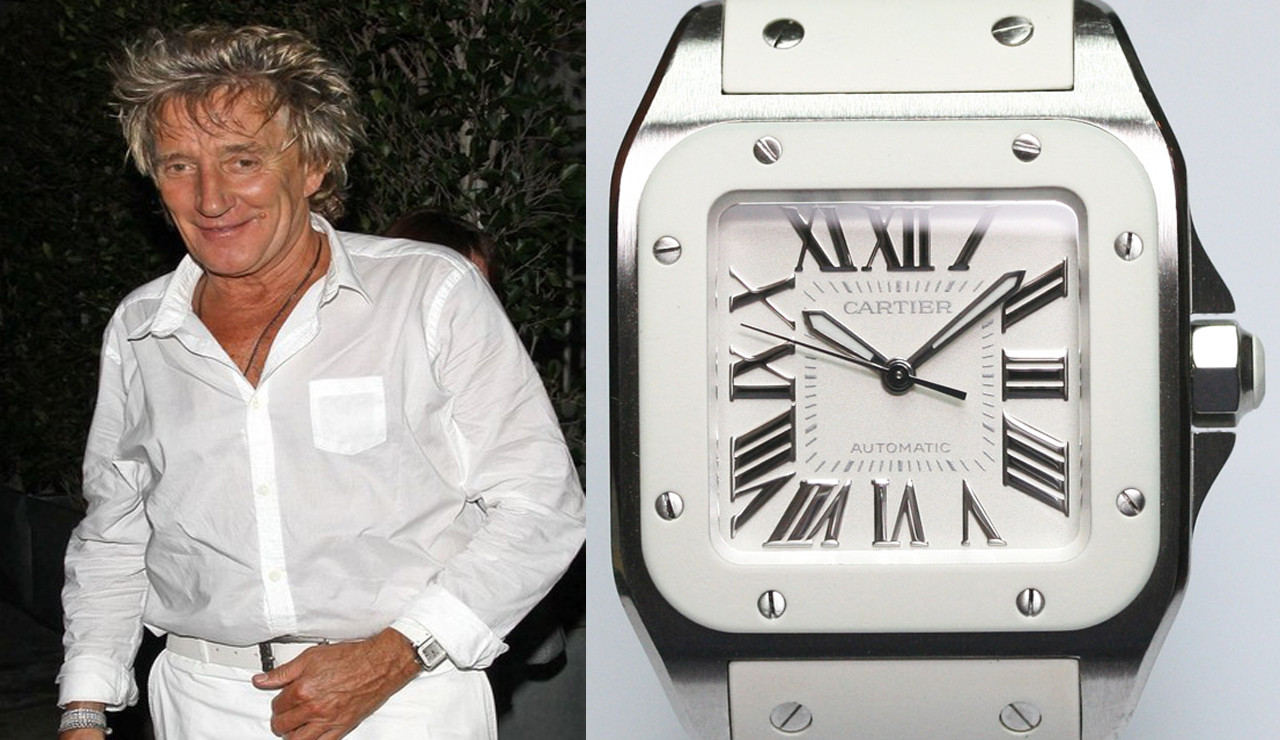 This is how Rod Stewart's Cartier got stolen during a pitch invasion at Wembley