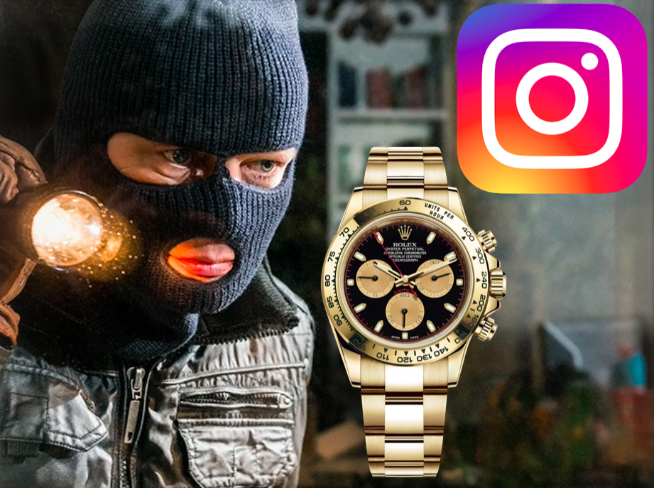thieves use Instagram