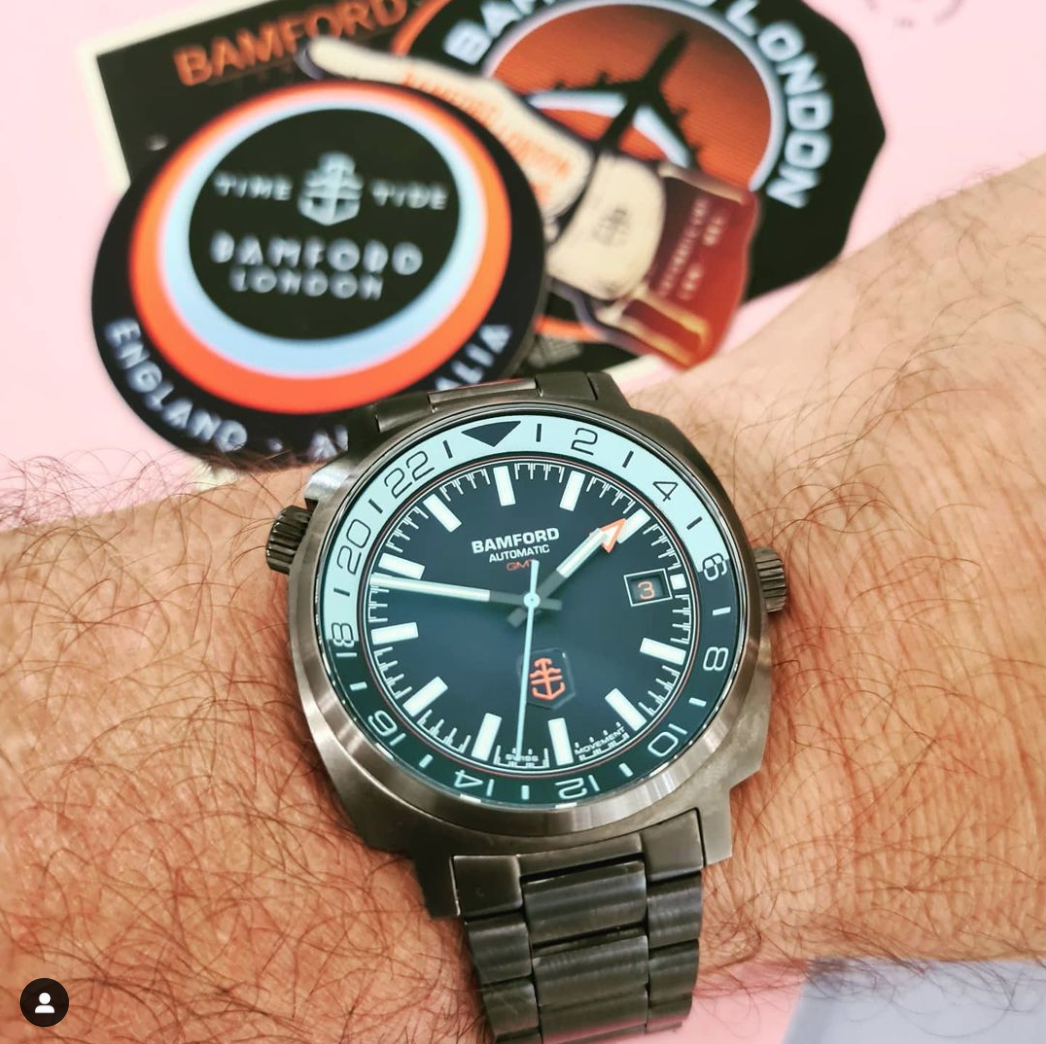 Bamford London x Time+Tide GMT1