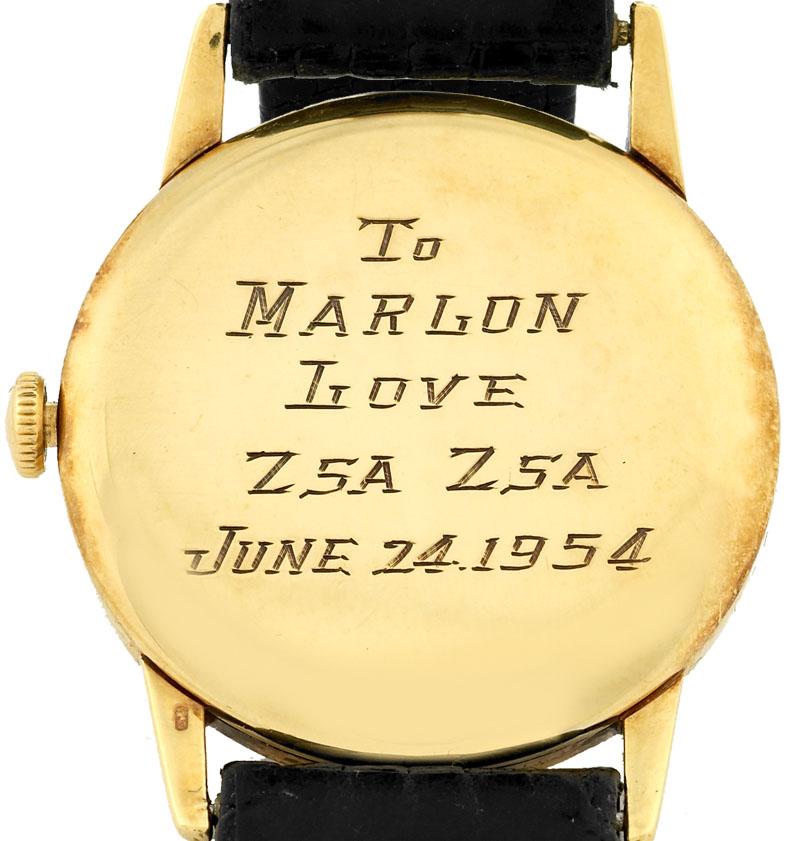 Sex, voodoo & a gold dress watch - Marlon Brando & Zsa Zsa Gabor