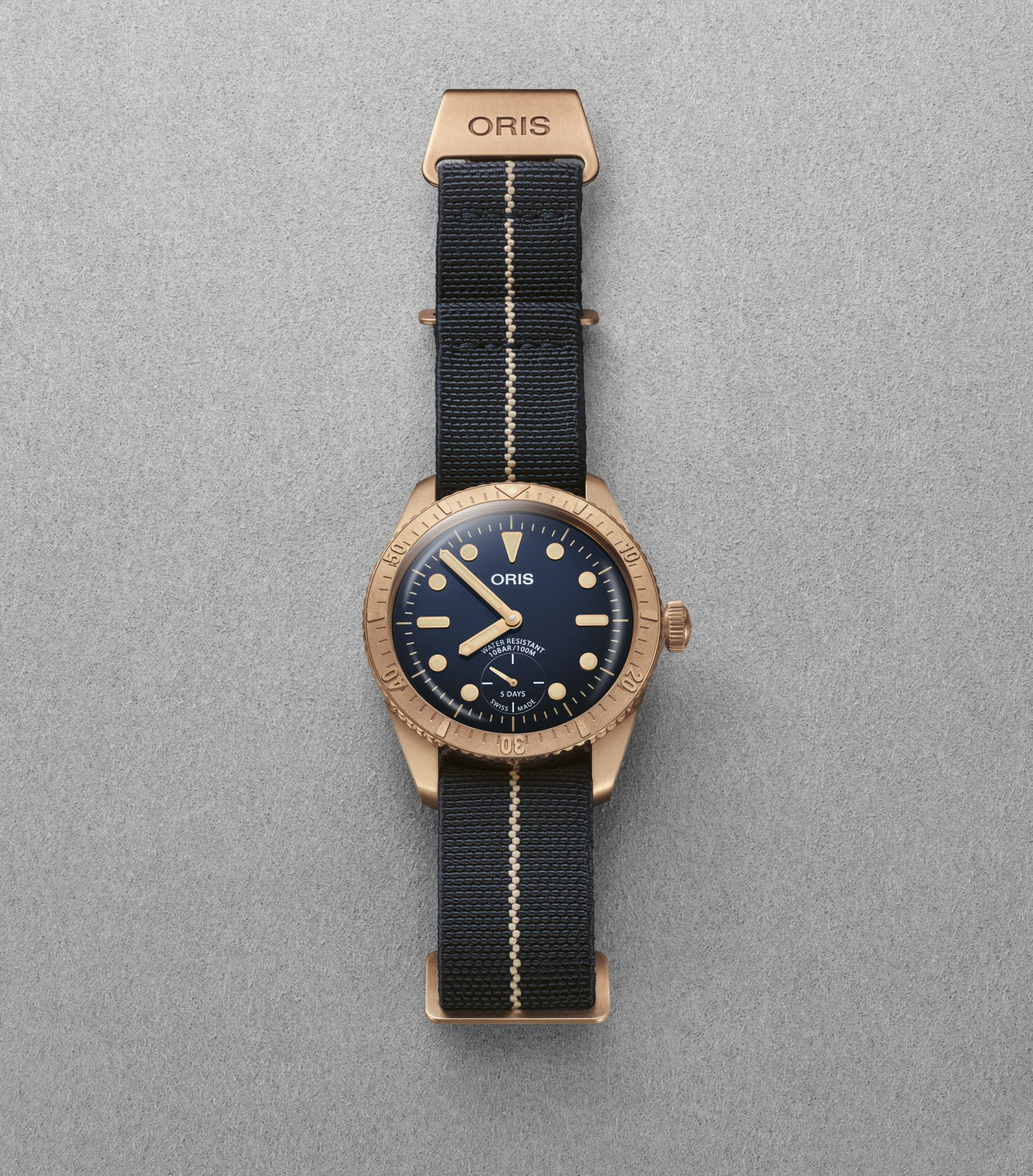 INTRODUCING: Yes, it's yet another bronze watch. But here's why the Oris Carl Brashear Cal. 401 Limited Edition matters…