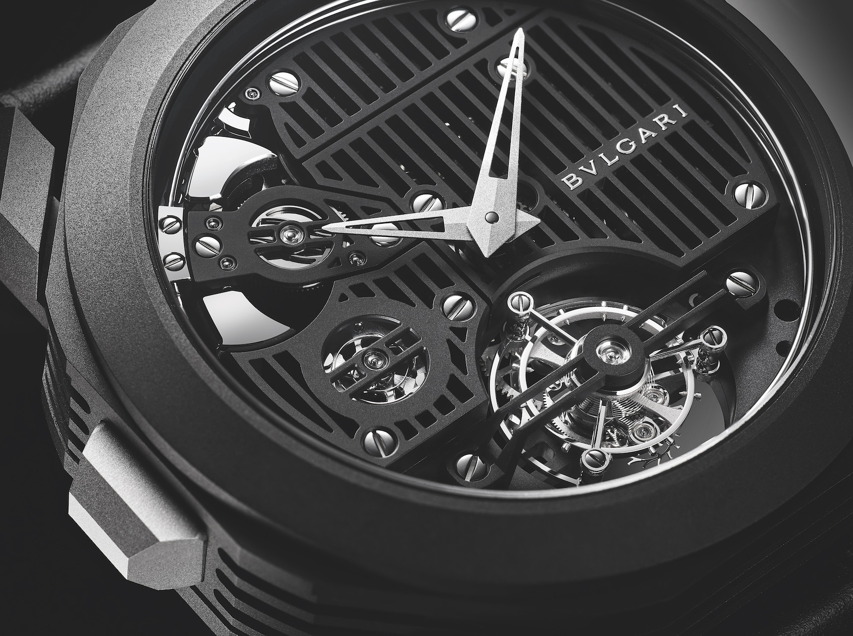 INTRODUCING: If Darth Vader wore a watch it'd be this Bulgari Octo Roma Carillon Tourbillon
