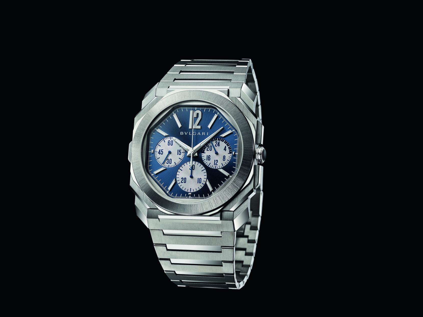 INTRODUCING: The Bulgari Octo Finissimo S Chronograph GMT is sportier and tougher with a panda dial