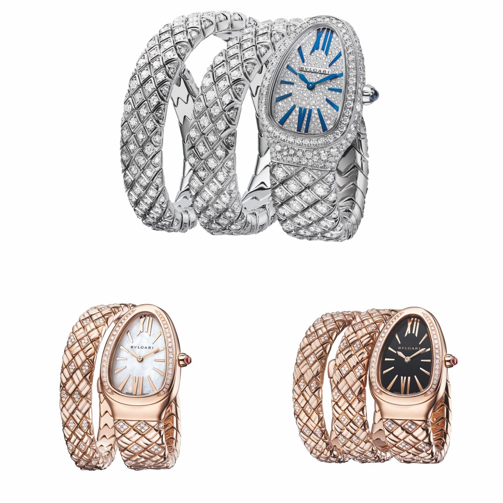 INTRODUCING: Bulgari slithers into 2021 with a trio of Serpenti Spiga watches