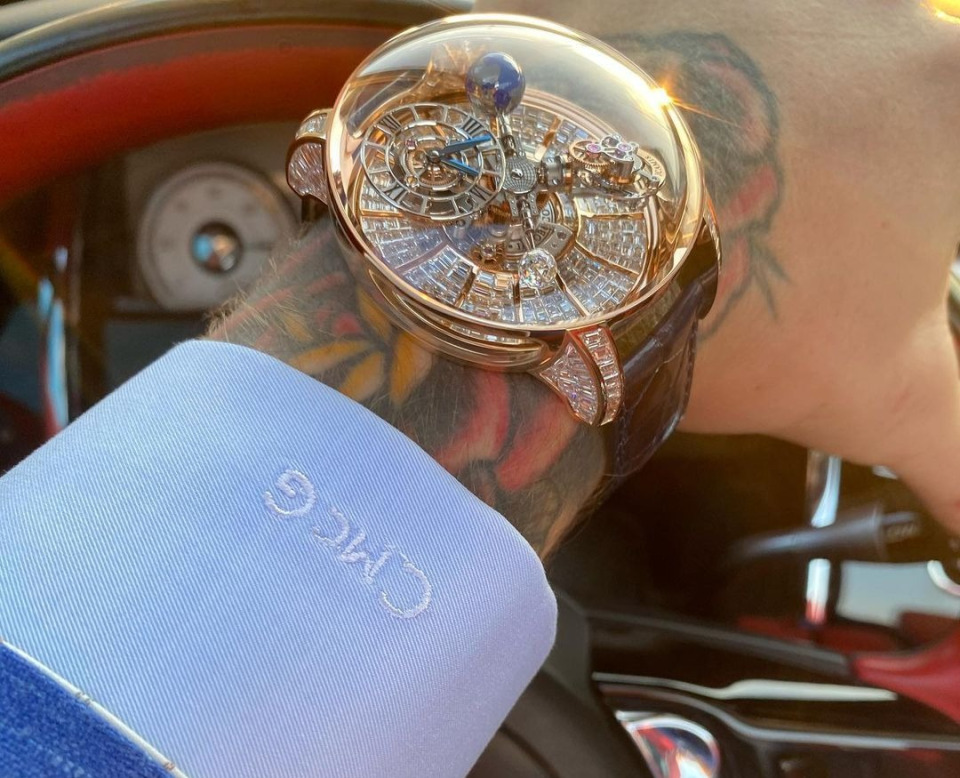 Conor McGregor drops £2.2M on Jacob & Co. watches including one with an X-rated twist…