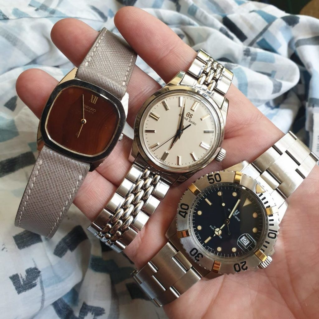 The three watches Nick wore most in 2020: Grand Seiko, Seiko and Universal Geneve