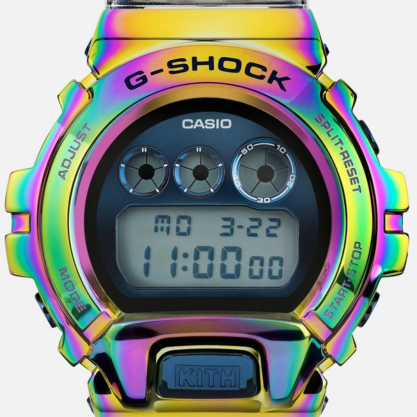 KITH for G-Shock GM-6900 Rainbow
