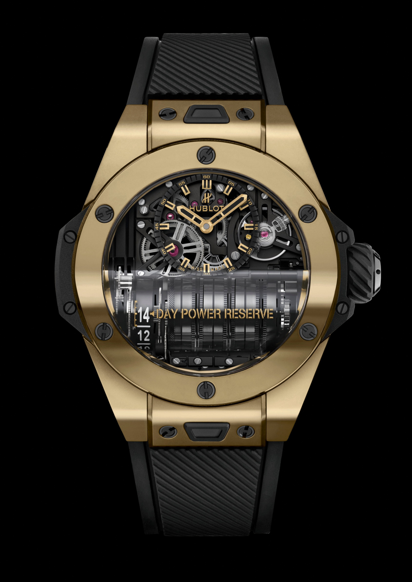 INTRODUCING: The Hublot Big Bang MP-11 Magic Gold weaves a golden web to trap you in a world of micro-mechanical wonder