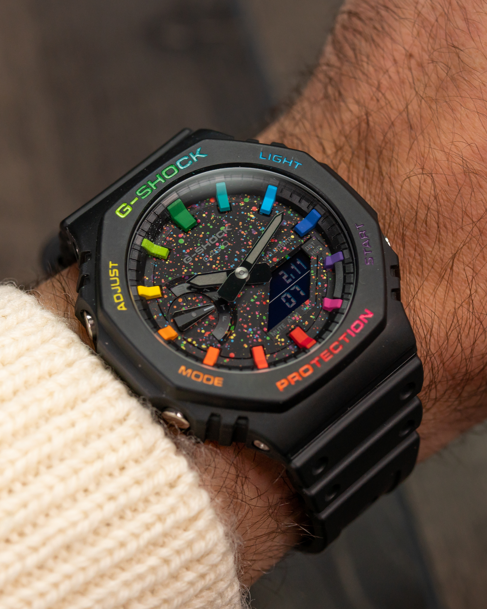 The Dial Artist is the man behind the customised CasiOak Galaxy – the hottest G-Shock on the planet
