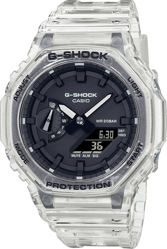 """INTRODUCING: Get the all-clear with the G-Shock Transparent Series (including the """"Casioak"""")"""