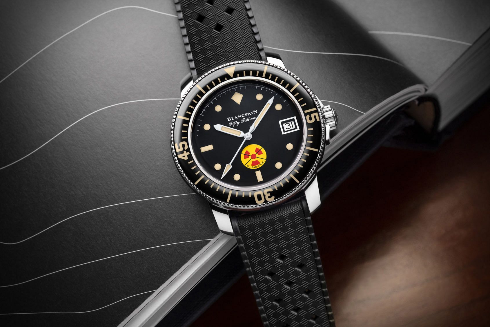 INTRODUCING: The Blancpain Tribute to Fifty Fathoms No Rad Limited Edition