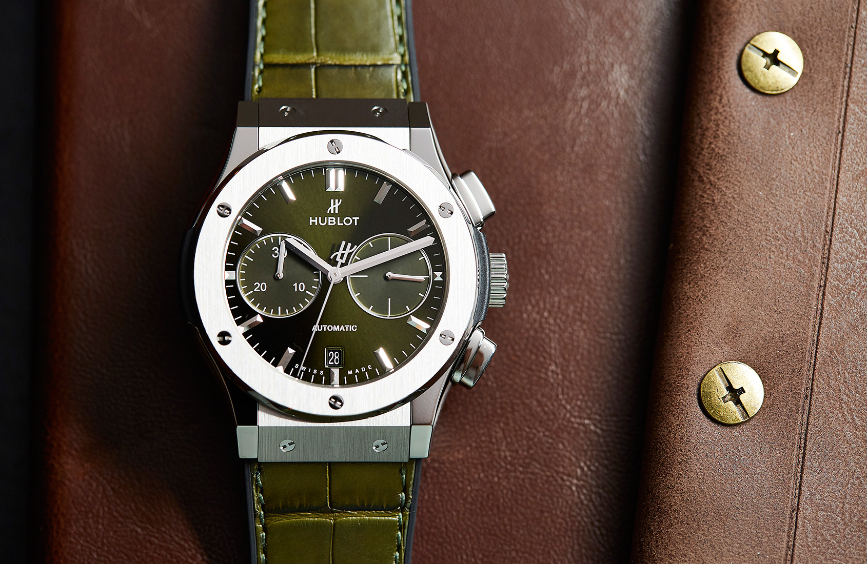 The best olive green dials featuring Patek Philippe, Hublot, Rolex and more