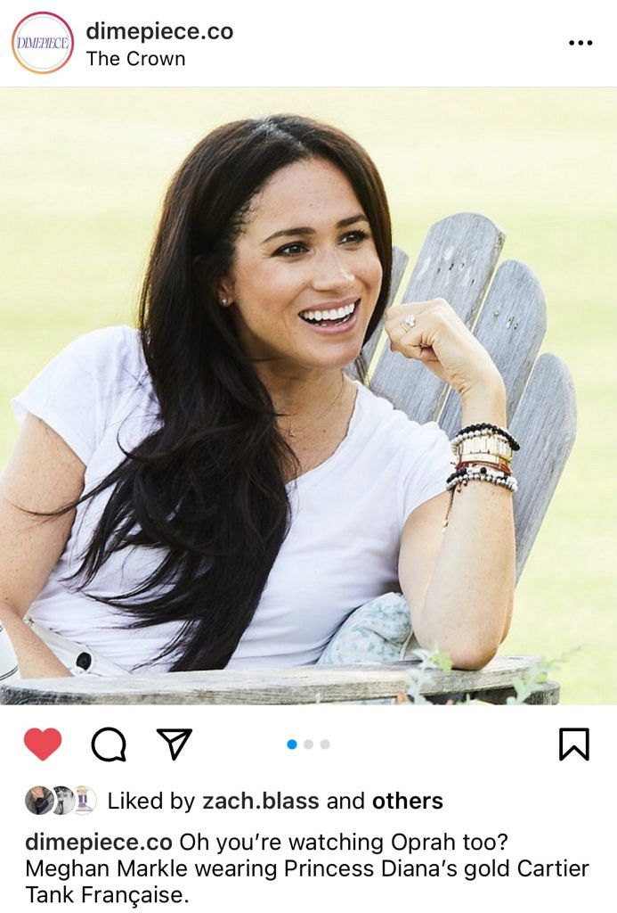 Meghan Markle is now polarising the watch world