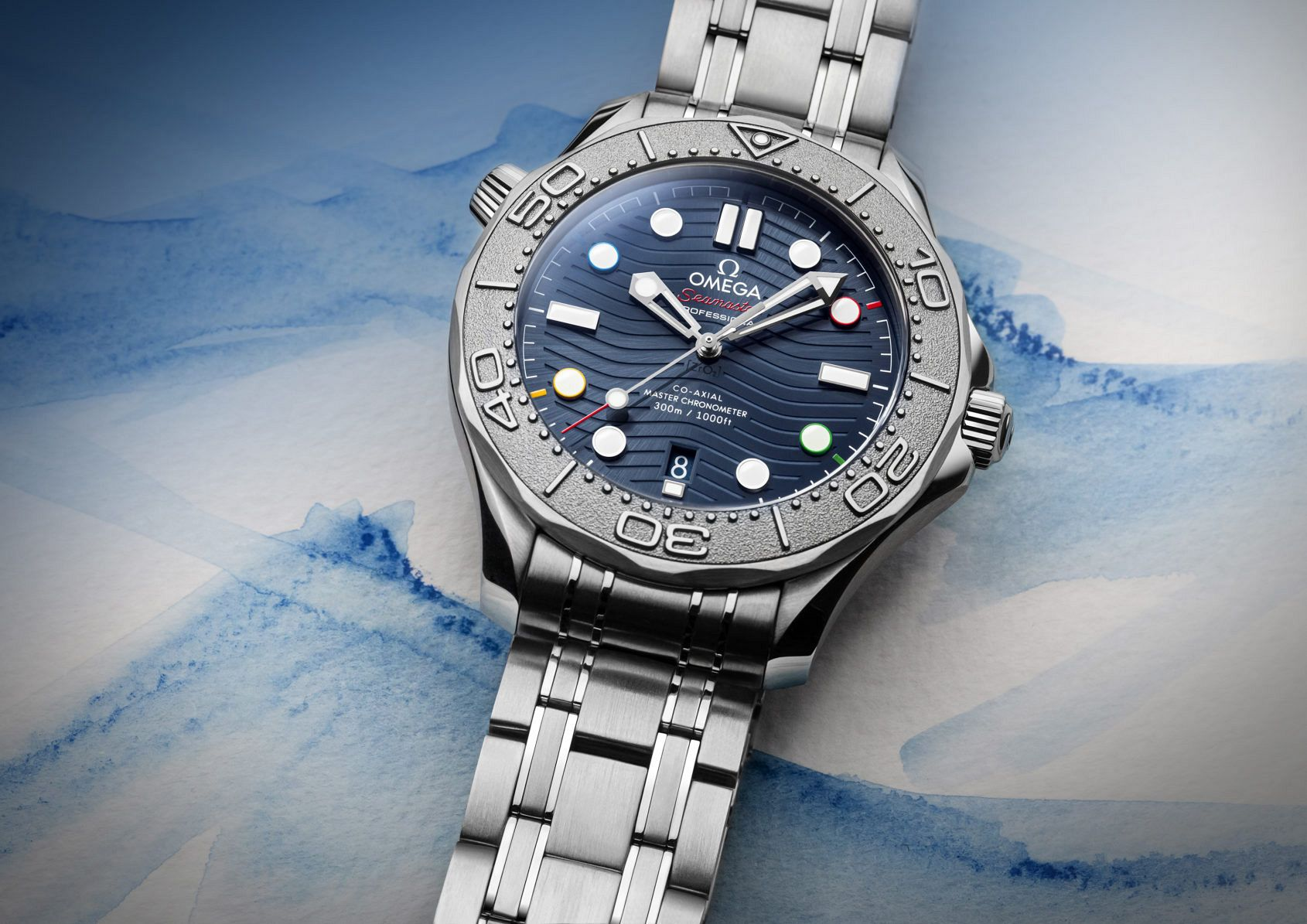 """INTRODUCING: The Omega Seamaster Diver 300M """"Beijing 2022"""" ushers in the Winter Olympics"""
