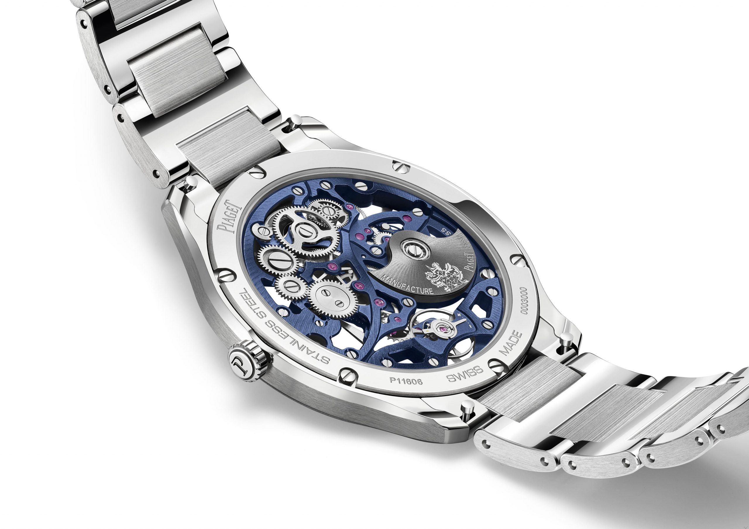 INTRODUCING: The Piaget Polo Skeleton watch is now 30% thinner at 6.5mm thick