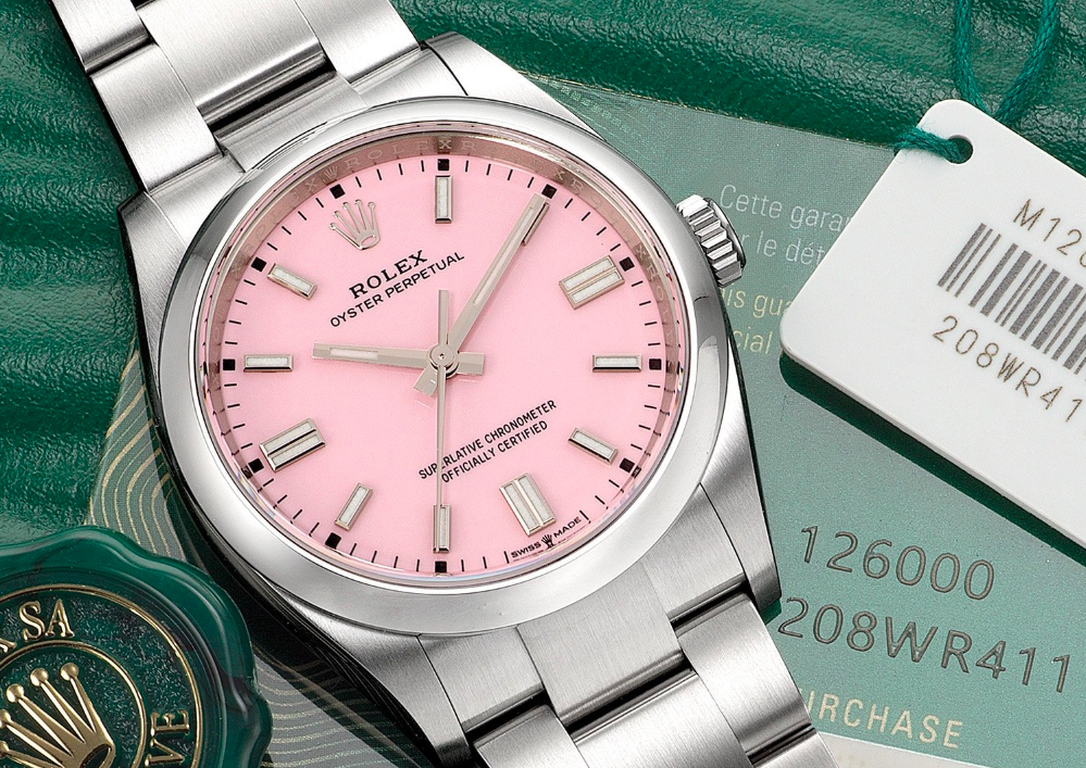 Chalky brights and sexy sorbets – 5 of the best pastel watches of 2020