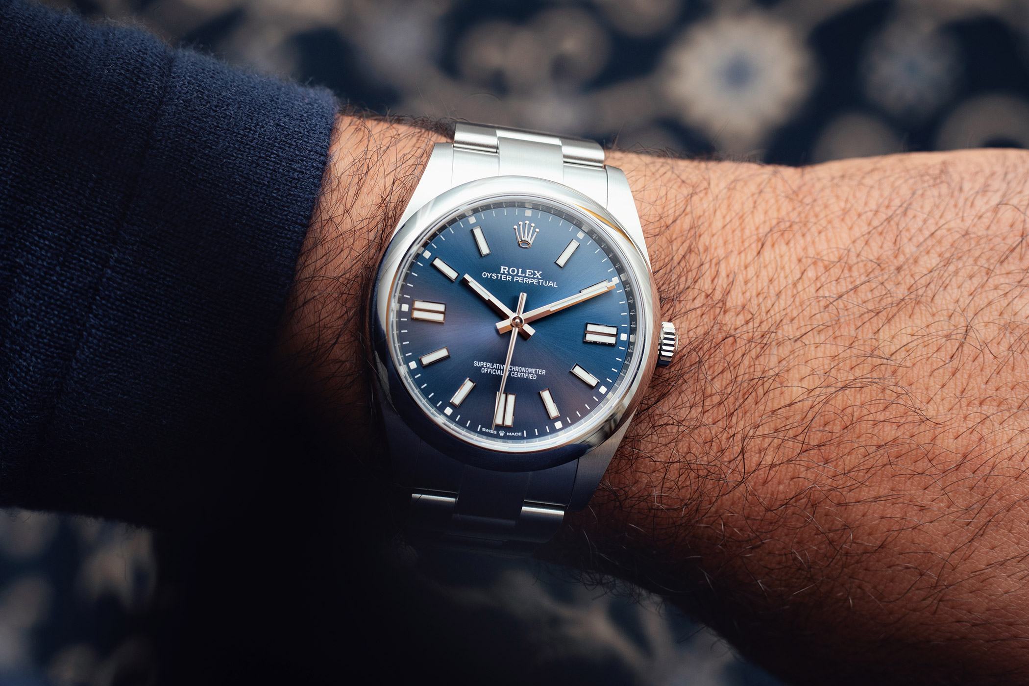 Five wildly desirable alternatives to the blue dial Rolex Oyster Perpetual 41