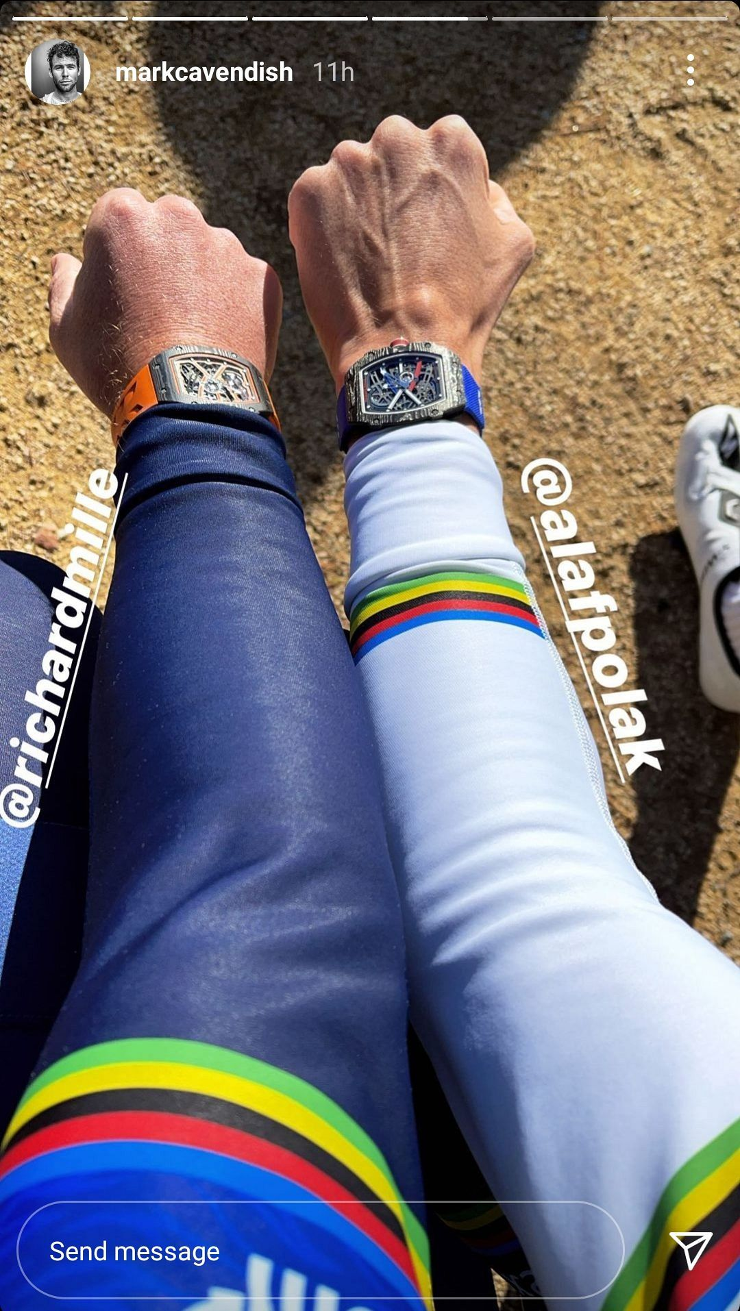 EDITOR'S PICK: Mark Cavendish is gunning for Tour de France glory with a Richard Mille on his wrist