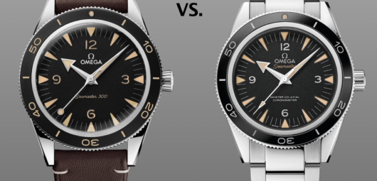 new Omega Seamaster 300 vs old