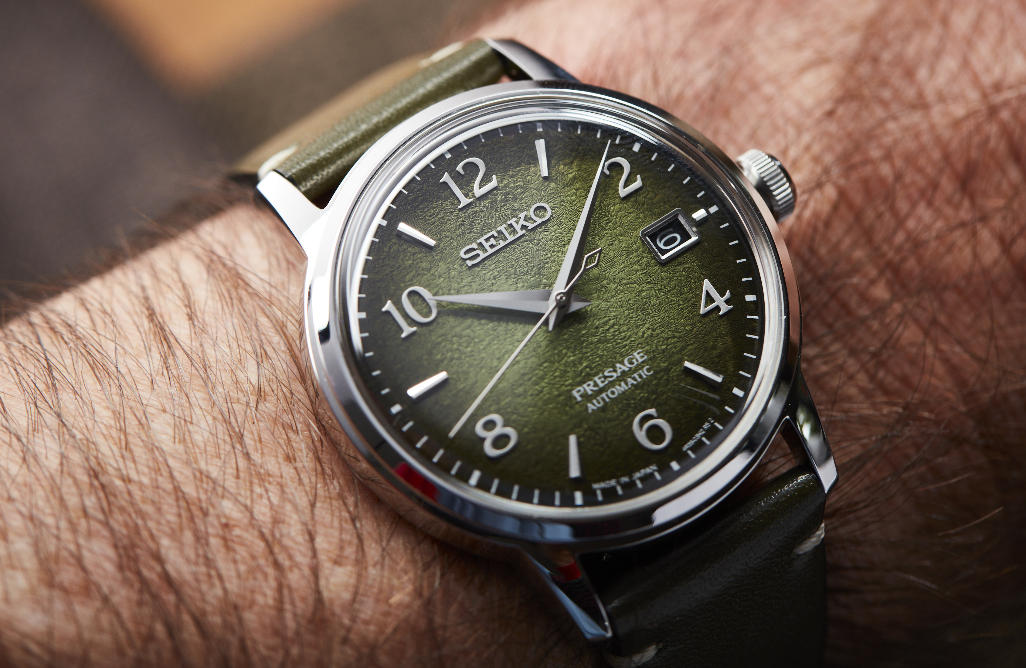 The best olive-green watch dials including Seiko, Oris and Longines
