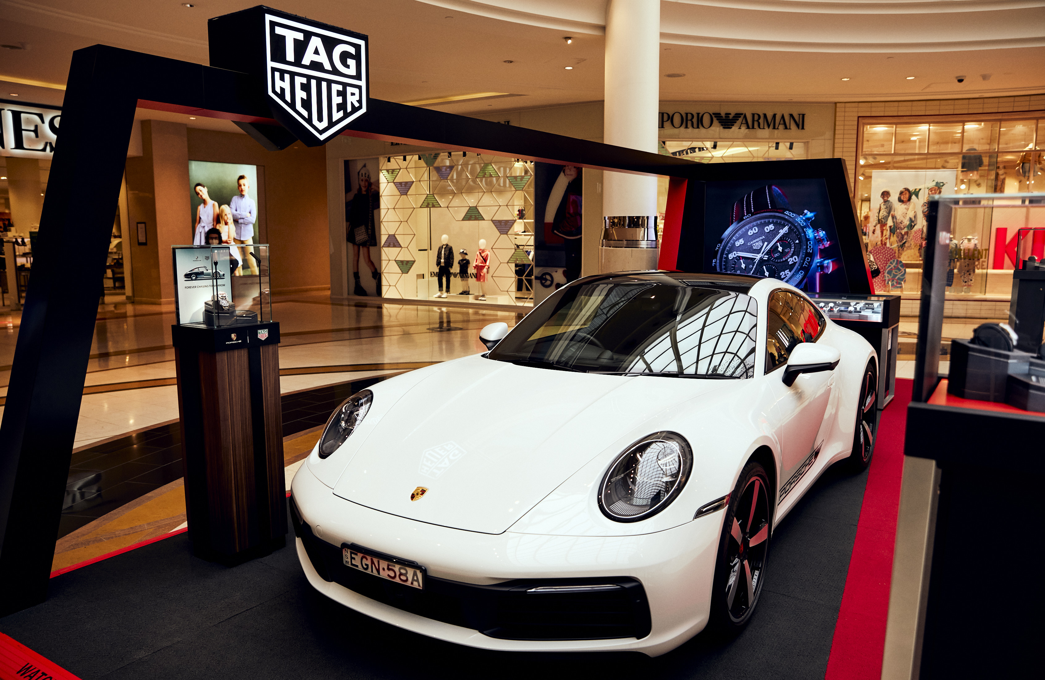 TAG Heuer x Porsche pop-up