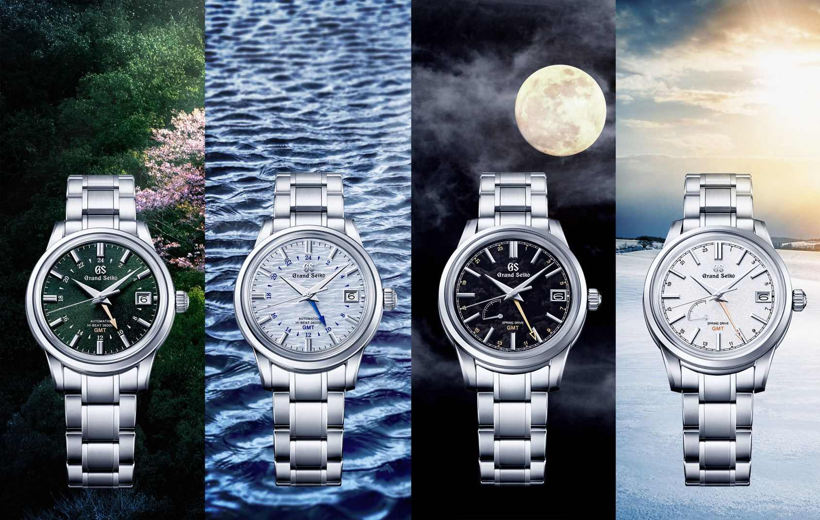 INTRODUCING: The Grand Seiko GMT Seasons Collection goes global