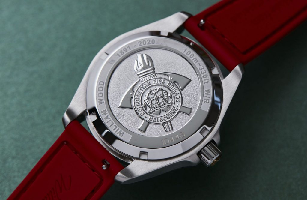 Hose before bros: William Wood make a customised watch for the Melbourne Metropolitan Fire Brigade!