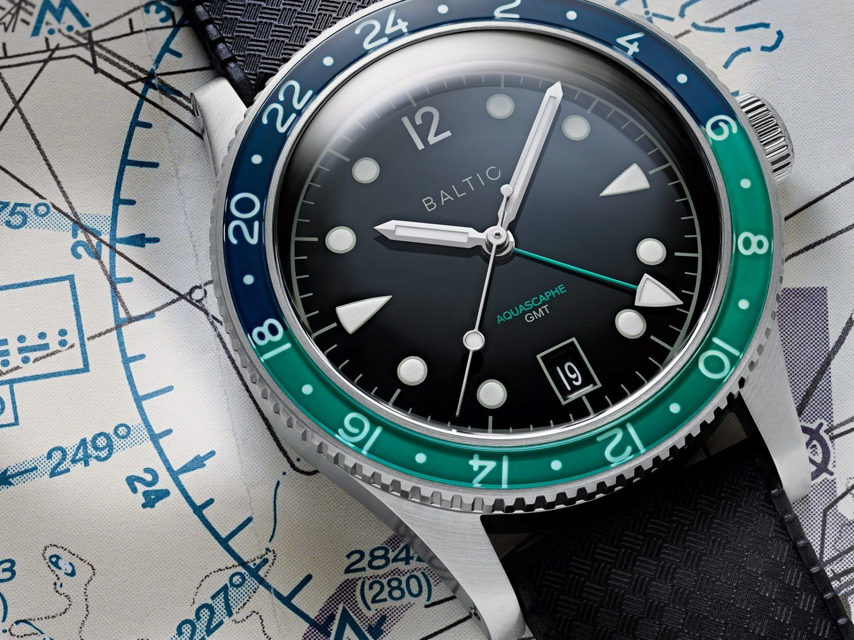 MICRO MONDAYS: Was the Baltic Aquascaphe GMT the freshest microbrand travel watch of 2020?
