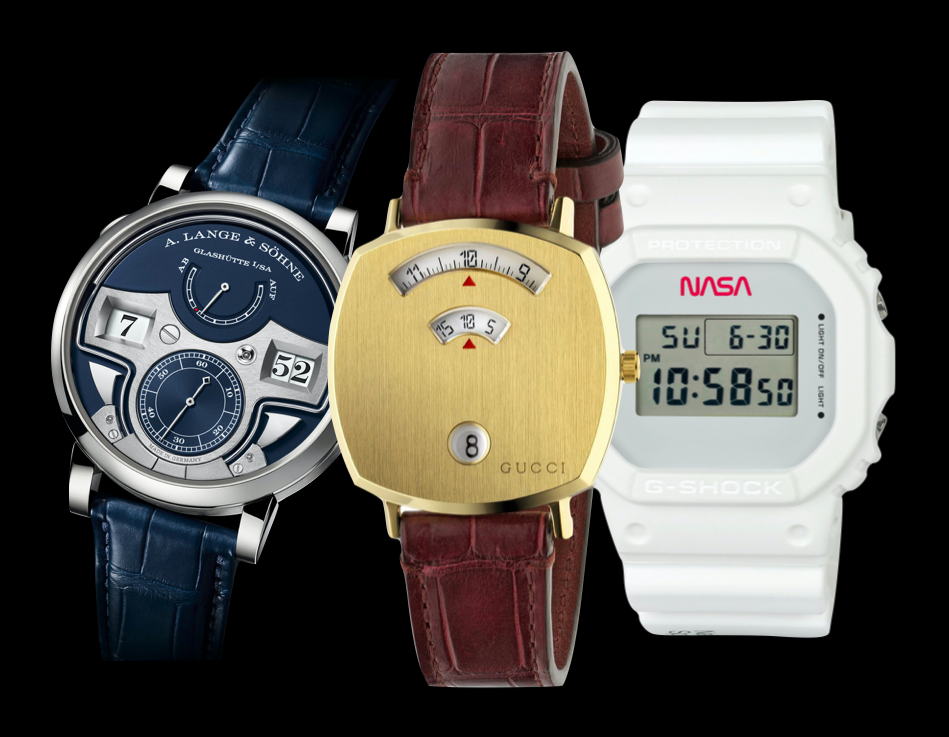 EDITOR'S PICK: 7 of the best digital watches from A. Lange & Sohne to Gucci